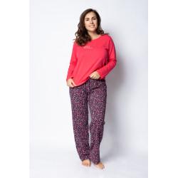 Dámské pyžamo Gina 19061P  - obrázek produktu 1