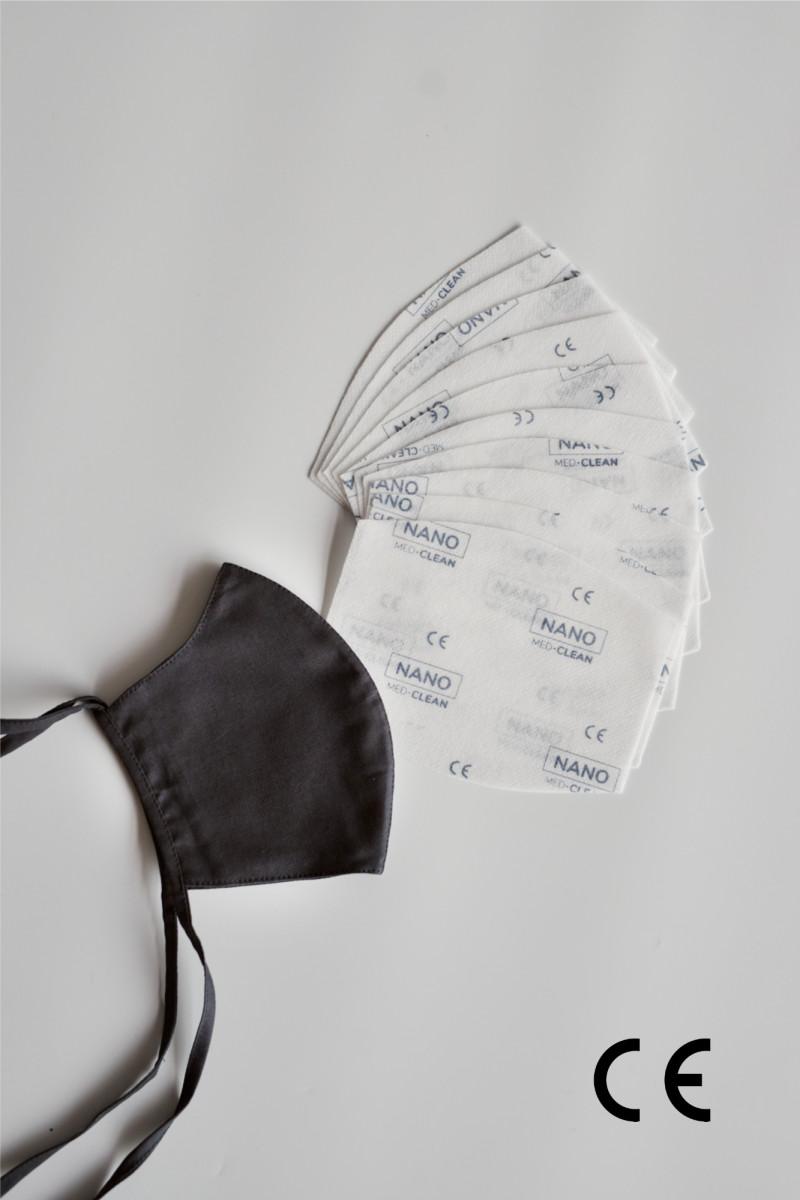 NANO MED.CLEAN rouška maska + 10x NANO MED.CLEAN  filtr