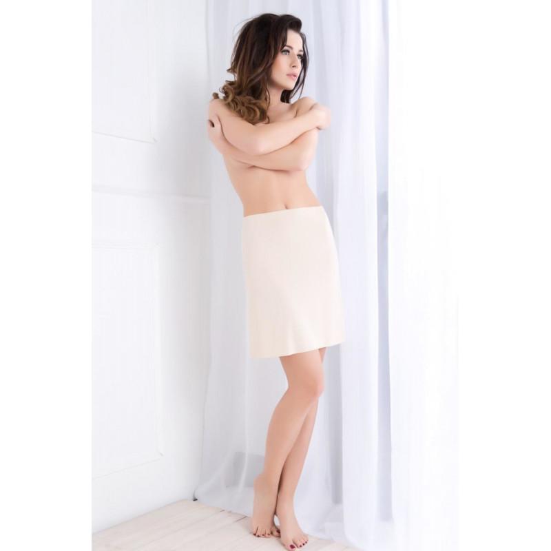 Dámské nohavičkové kalhotky vyšší Gina 03011P -  barva GINMxBMFE bílá-purpurová  54557f7e64