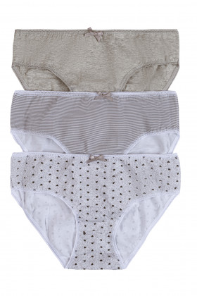 Set 3 ks kalhotek Lady Belty WP-0251 | Triola.cz